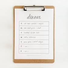 Printable Weekly Dinner Menu Weekly Dinner Menu Homegrown Traditions