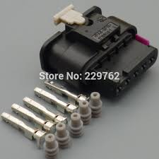 online get cheap wiring harness connectors aliexpress com 50sets 5 pin automotive waterproof wire connector 1 1718806 1 car sealed automobile map sensor wiring harness connector plug