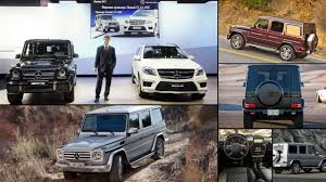 Mercedes Benz G Class - All Years and Modifications with reviews ...