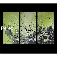 abstract art canvas painting lime green black wall art paintings on lime green wall art pictures with abstract art canvas painting lime green black wall art paintings