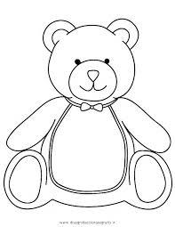 Disegno Teddybear07 Animali Da Colorare