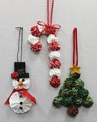 Best 25+ Quilted christmas ornaments ideas on Pinterest | DIY ... & I enjoy making Yo-Yos, so I thought I would whip up some Yo-Yo ornaments I  saw in a recent issue of Quilter's World called Quilting for the Holidays. Adamdwight.com