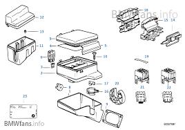 single components for fuse box bmw 5' e34 520i m50 europe bmw e34 fuse box at Bmw E34 Fuse Box