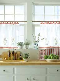 Cafe Curtains For Kitchen Martha Stewart