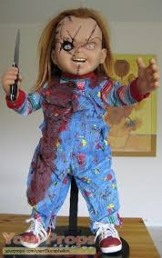 life size chucky doll seed of chucky chucky 1 1 life size doll reproduction sideshow