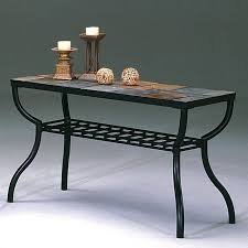 stone top console slate sofa table ideas