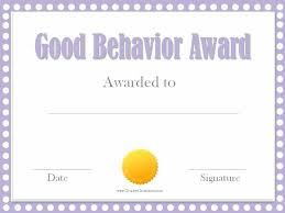 Printable Award Certificate Template Free School Templates