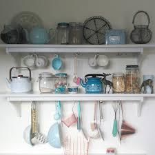 Duck Egg Blue Kitchen Utensils My Ikea Stenstorp Kitchen Shelves With Pretty Copper Duck Egg