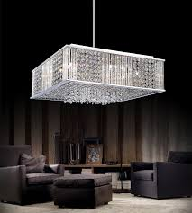 home outstanding modern crystal chandeliers 35 0001925 20 cristallo square pendant chandelier polished chrome12 lights modern