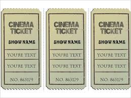 34 Raffle Ticket Template Free Word Pdf Psd Doc Sample