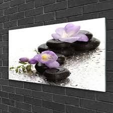 home décor items glass print wall art