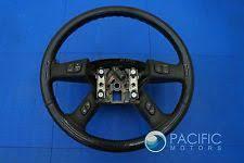 hummer h2 steering wheels horns steering wheel black ebony leather oem hummer h2 suv sut 2003 07 fits hummer h2