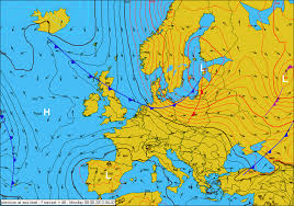 surface pressure charts weather colder weather on the way