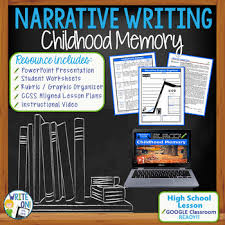 Narrative Writing Essay Prompt With Graphic Organizer