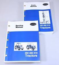 long tractor manual long 360 460 510 tractor service repair shop manual parts catalog technical book