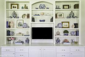 built in bookcase decorating ideas