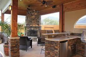 outdoor kitchens with fireplace. Simple With Outdoor Kitchens Fireplaces  EVA Furniture On With Fireplace T
