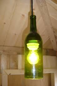 Making Wine Bottle Lights 30 Wine Bottle Lamps Wine Bottle Hanging Lanterns Via