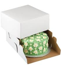 corrugated cake bo 2 pkg 10 u0022x10 u0022x5 u0022