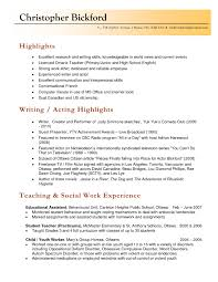 Ideas Of Canadian Resume Examples For Highschool Students