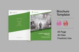 Company Brochure Example Bizy A4 Business Brochure Template