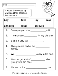 Includes differentiated support and independent sheets. Phonics Worksheets Oy And Oi Sounds Phonics Worksheets Phonics Phonics Worksheets Free