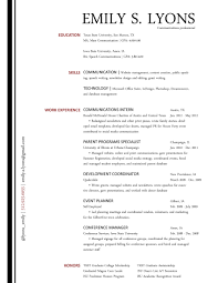 resume sample for communications broadcasting media intern i short resume samples comm tool box the communications resume