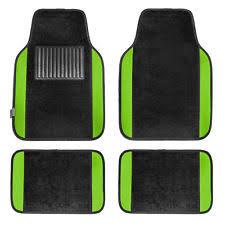 green car floor mats. Wonderful Car Carpet Floor Mats With Green Trim Fit Most Car Truck Suv Or Van For Car I