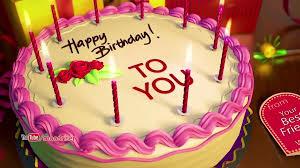 Happy Birthday 3d Animation Wishes Status Video
