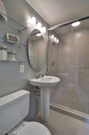 bathroom design center 4. Contemporary 3 4 Bathroom With Gatco Designer Chrome Gl Shelf Hardwood Floors Design Center R