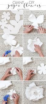 Diy Paper Flower Diy Giant Paper Flowers Tutorial Maison De Pax