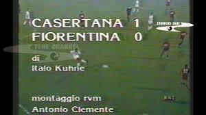 CASERTANA-FIORENTINA 1-0 COPPA ITALIA 1986-87 GARA DEL 24 AGOSTO 1986 GOL  DI PETRIELLO #CASASTENE - YouTube