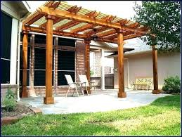 attach pergola to deck how off house designs build a building on attached planning permission
