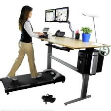 standing desk treadmill. Wonderful Standing Uplift Treadmill Desk In Action On Standing M