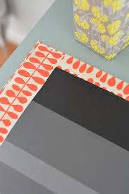 cover binders with papers and add a sliver of paper to hide the corners