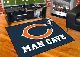 chicago bears area rug fan mats man cave all star floor mat s