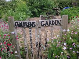 children garden. children between the ages of 3 to 6 go voluntary communities or church-supported facilites where playing outside (weather does not really matter) and garden g