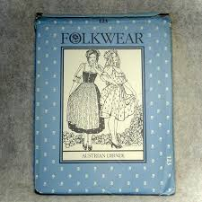 Folkwear Patterns Delectable Austrian Dirndl Folkwear Patterns From The Past 48