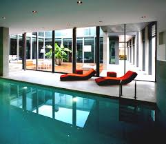 Indoor Outdoor Pool Residential Indoor Swimming Pool Magnificent Home Plans Pools Designs House