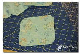 clip the corners after sewing cut the triangle piece off to make it turn better and lay nice