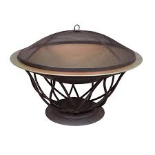 Hampton Bay Maison 30 In Copper Finish Bowl Fire Pit25945  The Home Depot Fire Pit