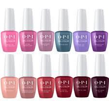 Opi Gel Color Soak Off Or Top And Base Coat 15ml Buy 4 Get