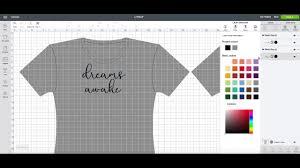 T Shirt Design Template Maker How To Make A Tee Shirt Design In Cricut Design Space