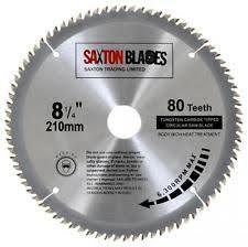 skil saw blade. saxton tct circular wood saw blade 210mm x 30mm 80t for bosch makita festool skil g