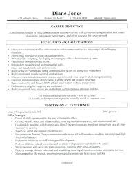 Admin Resume Objective Administration Resume Objective Resume Objectives Medical