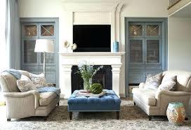 Two Sofa Living Room Design Set