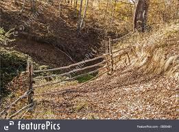 wooden farm fence. Wooden Mountain Farm Fence Royalty-Free Stock Photo