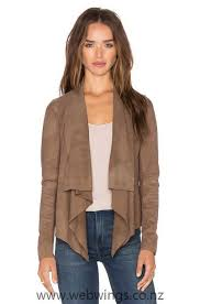 muubaa chester d front jacket in taupe for women d21967967