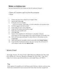 Create A Citation Race
