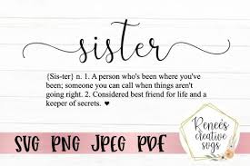 Browse our cassette images, graphics, and designs from +79.322 free vectors graphics. Sister Definition Graphic By Reneescreativesvgs In 2020 With Images Sister Definition Svg Files For Cricut Texture Photography